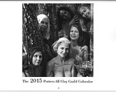 2015 Potters All Clay Guild Calendar
